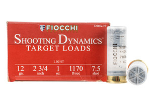 Fiocchi Shooting Dynamics 12 gauge target load with #7.5 shot