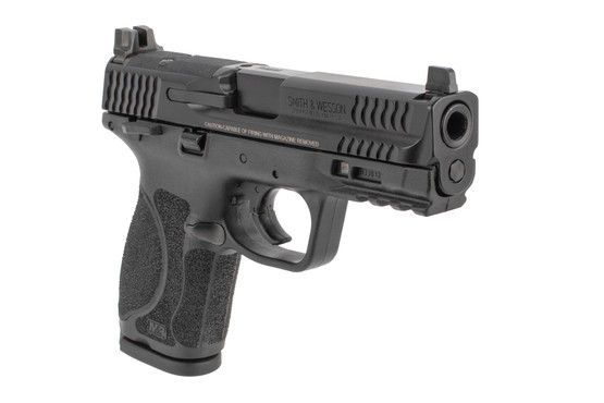 Smith Wesson M&P 9 2.0 9mm pistol features suppressor height sights