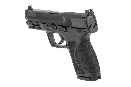Smith & Wesson M&P9 m2.0 pistol features an optic ready slide