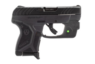 Ruger LCP II 380 ACP pistol comes with an integrated green laser