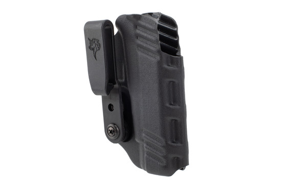 DeSantis Slim-Tuk IWB Holster for Glock 48 has a spring clip attachment