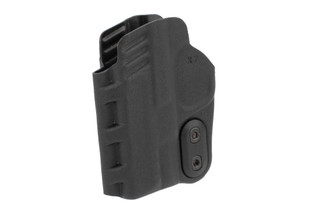Slim-Tuk IWB Ambidextrous Holster for S&W Shield in Black from DeSantis features Kydex material