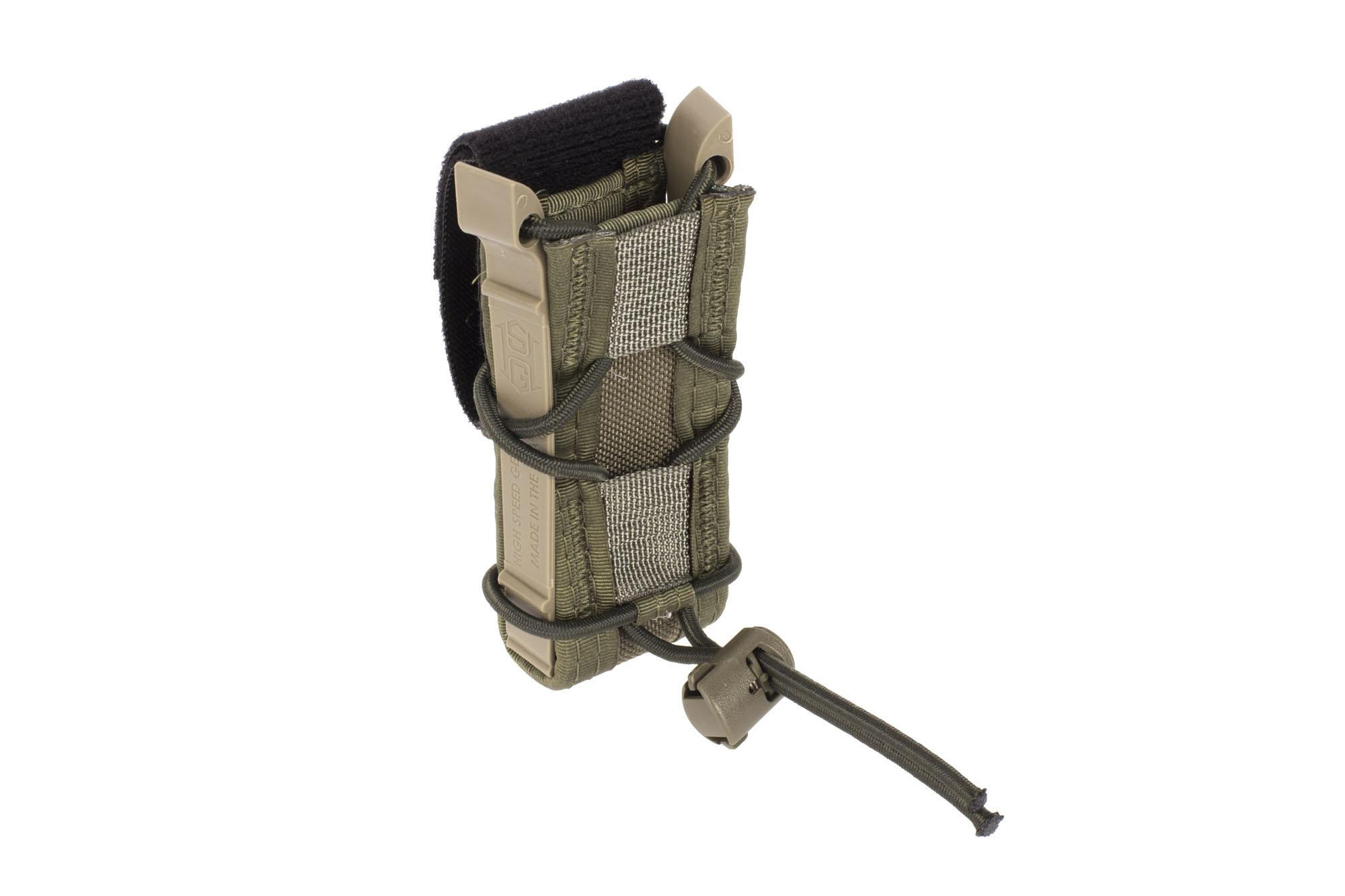 High Speed Gear Pistol TACO Magazine Pouch Belt Mount Olive Drab Green