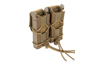 High Speed Gear Double Pistol Magazine Pouch Belt Mount Coyote Brown