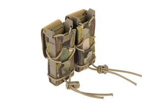 High Speed Gear Double Pistol Magazine Pouch Belt Mount MultiCam