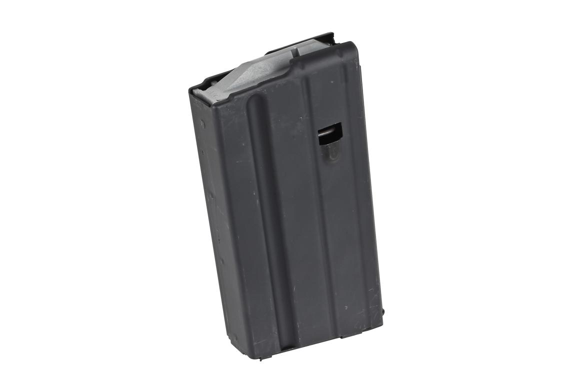 The 6.8 SPC Steel AR15 Magazine from ammunition storage components features a 15 Round capacity and and steel feed lips