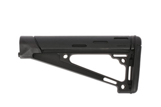 Hogue Grips AR 15 OverMolded Fixed Buttstock - Fits A2 Buffer Tube - Black