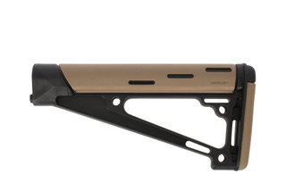 Hogue Grips AR 15 Overmolded A2 Rifle Stock FDE 15341