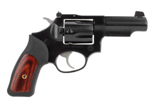 Ruger SP101 revolver is chambered in 357 magnum