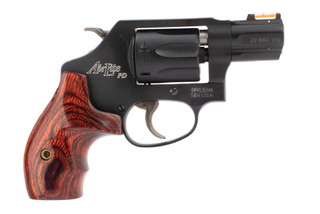 Smith & Wesson Model 351 PD AirLite J-Frame revolver with 7-round .22 Magnum cylinder