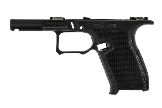 Patriot Ordnance Factory P19 Glock Frame features an improved grip contour and texture