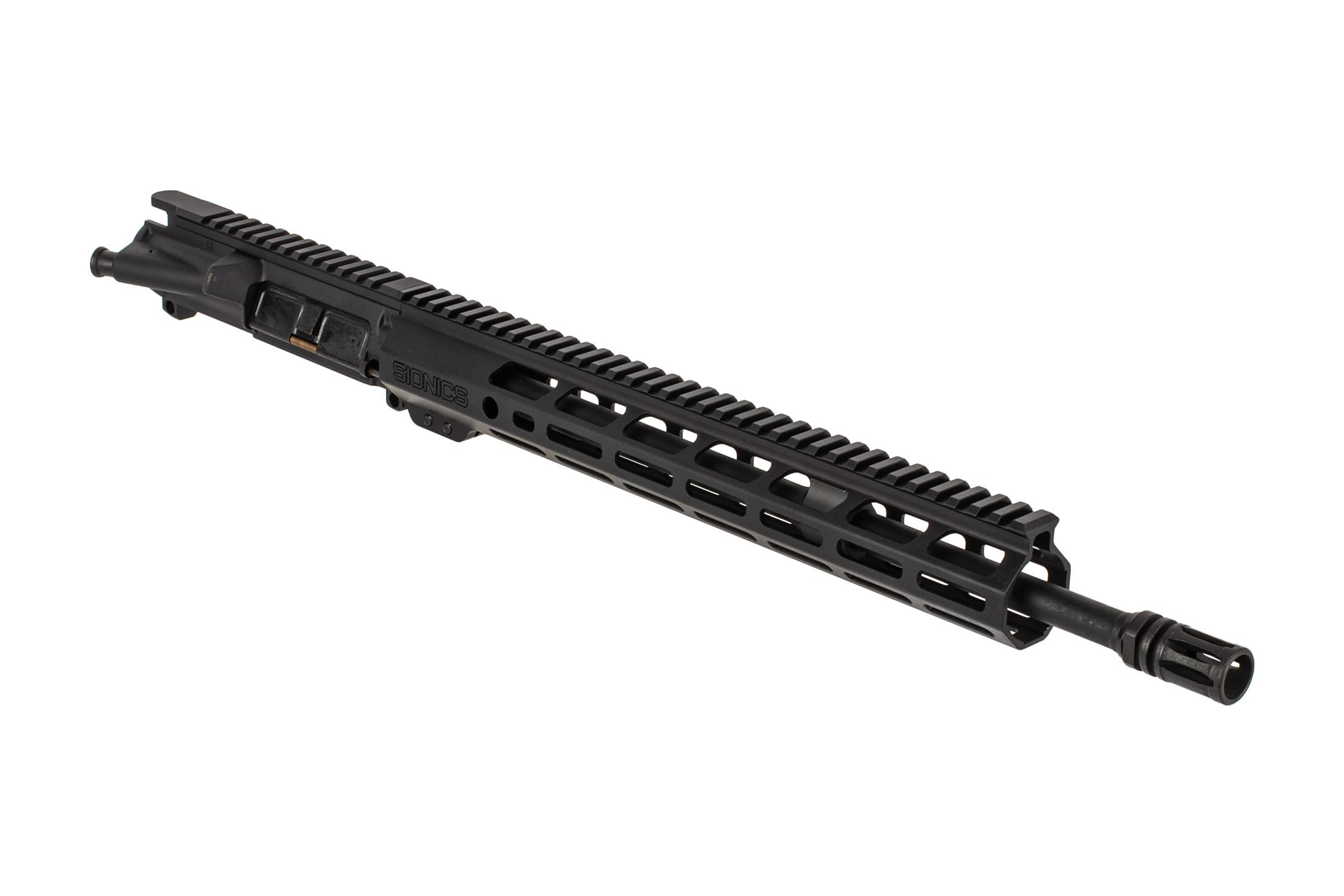 Sionics Weapon Systems Patrol III lightweight barreled ar15 upper receiver features a pencil barrel