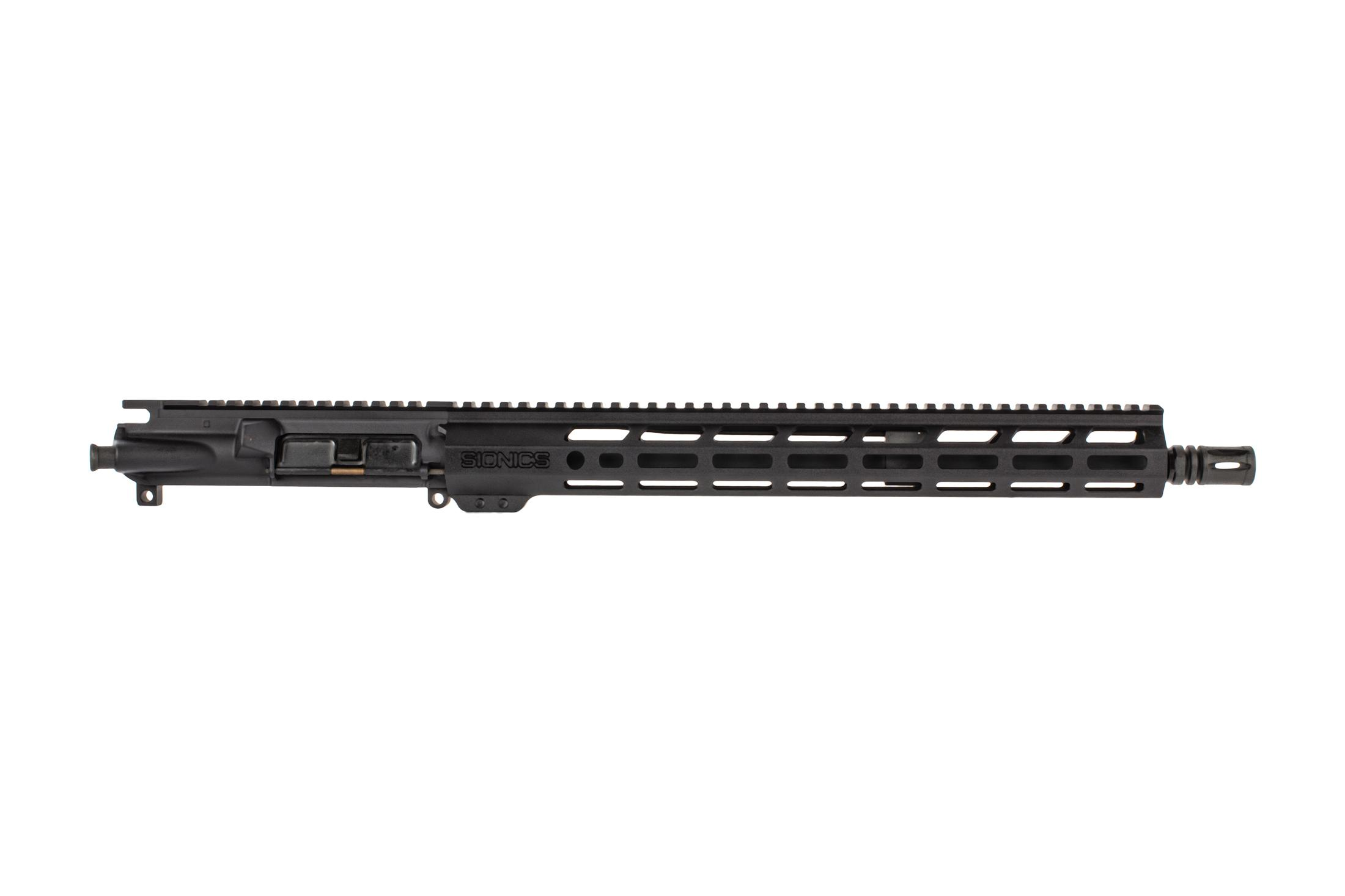 Sionics Weapon Systems Patrol Three Lightweight AR15 barreled upper receiver features a midlength gas system