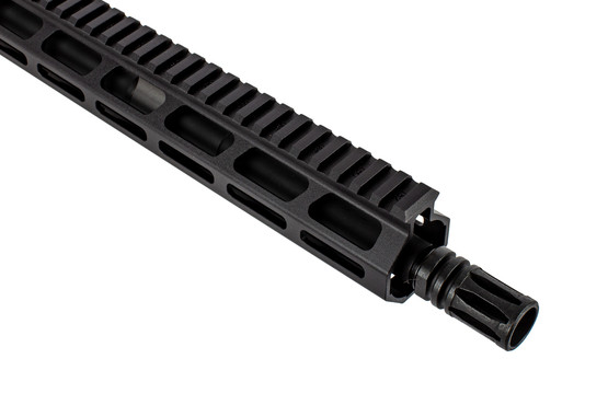 Sionics Patrol Three Barreled upper receiver features an M-LOK free float handguard