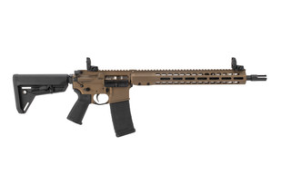 Barret REC7 DI 556 AR15 rifle features a burnt bronze Cerakote finish