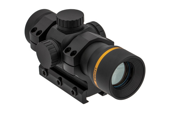 The Leupold Freedom RDS Red Dot Sight features a 1 MOA illuminated reticle
