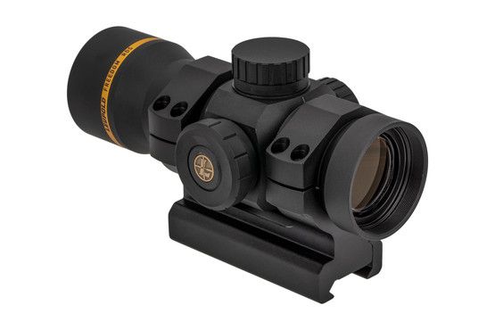 The Freedom Red Dot Sight from Leupold features push button activation for the illuminated reticle