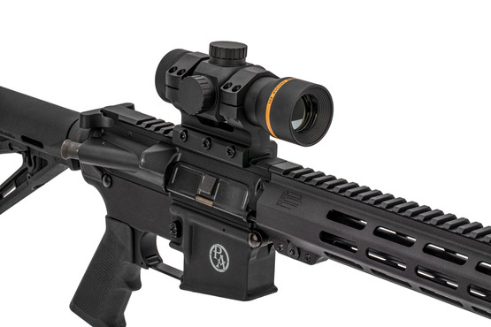 Leupold Freedom Red Dot Sight with included AR-height double-ring mount