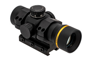 The Leupold Freedom Red Dot Sight features a 1 MOA BDC reticle