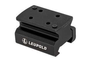 Leupold DeltaPoint Pro AR Mount is precision machined aluminum and sits your optic at Lower 1/3rd