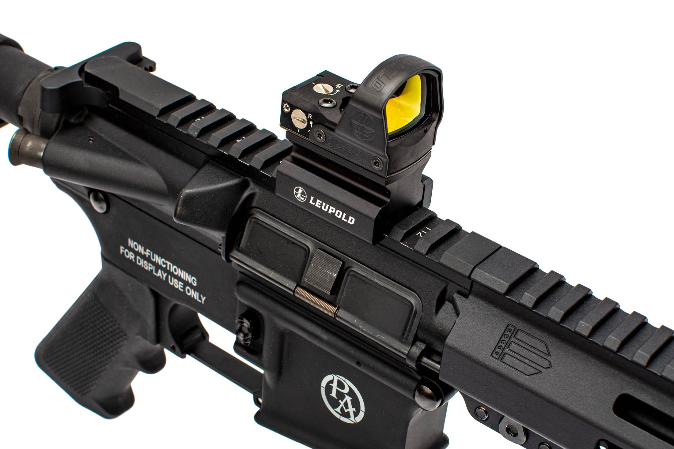 Leupold 2.5 MOA DeltaPoint PRO compact reflex sight with AR-height mount