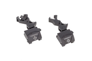 Diamondhead USA D-45 offset iron sights are spring-loaded rapid-deployment backup sight system
