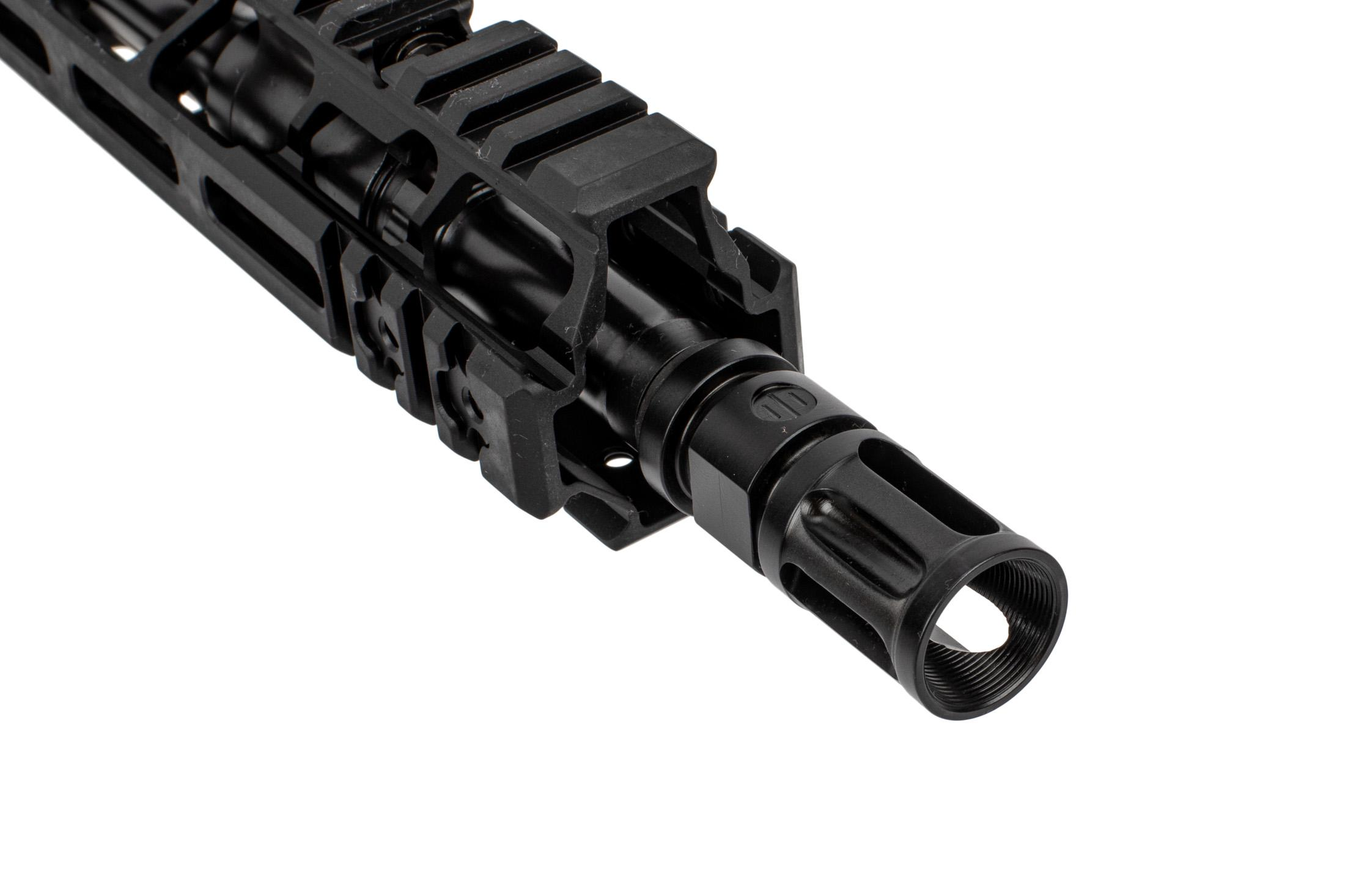 Primary Weapon Systems MK111 MOD 2-M upper receiver features a compensator and M-LOK attachment slots