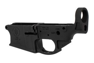 Primary Weapon Systems MK2 Mod 1-M stripped AR-308 lower receiver is compatible with DPMS pattern uppers.