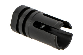 Forward Controls Design 3-Prong flash hider for 1/2x28 threading is highly effective at flash reduction and compensating.