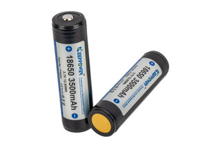 Modlite Systems Keep Power 18650 rechargeable batteries are 3500mAh 2 pack