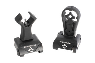 Diamondhead USA Alloy Hole Integrated Sighting System is perfect for close quarters shooting and rapid sight alignment