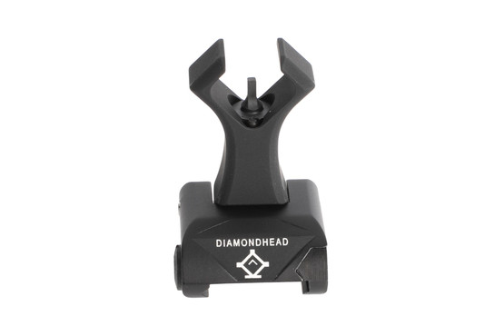 Diamondhead USA Alloy Hole Shot ISS front sight has a fast diamond-shaped hood for instant acquisition
