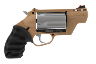 .410 Gauge /.45LC Public Defender Poly Revolver from Taurus has a 2 inch barrel