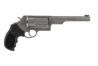 Taurus Judge Magnum revolver in stainless steel