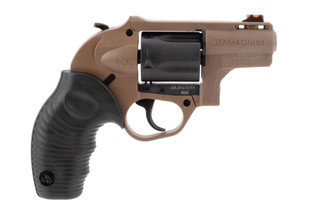 Taurus 605 poly protector features a flat dark earth frame