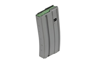 The Ammunition Storage Components AR15 magazine is made from aluminum and holds 20 rounds of 5.56 NATO