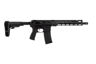 Primary Weapon Systems MK111 Pro Pistol is chambered in 223 Wylde with an 11.85 inch barrel