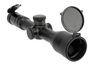 Burris Optics XTR III 3.3-18x50mm Riflescope with SCR MOA Reticle have a matte black finish
