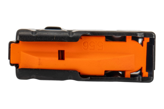 C Products 5.56 magazine features an orange AFG follower