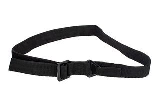 Red Rock Outdoor Gear Black Riggers Belt is made from durable Nylon webbing