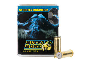 Buffalo Bore 38 Special ammo features a wad cutter bullet