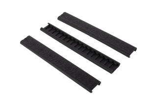 Daniel Defense 7in rail covers come 3 to a pack and provide protection from heat and abrasion for your picatinny rails