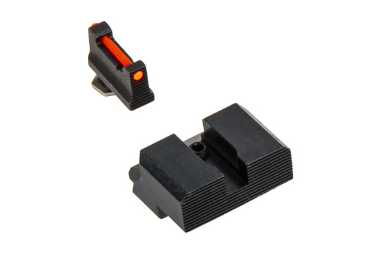The Overwatch Precision Fiber Optic Glock Sight Set is machined from steel