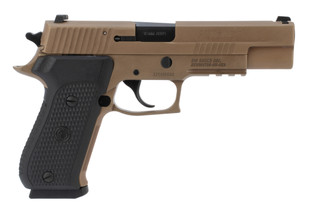 SIG Sauer Emperor Scorpion 10mm pistol in flat dark earth