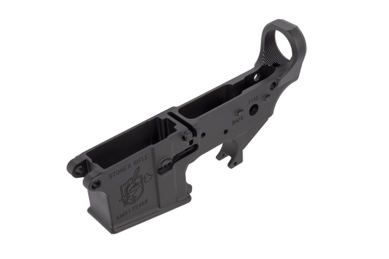 KAC stripped SR-15 lower receiver is fully compatible with your favorite MIL-SPEC components and uppers, perfect for a clone build.