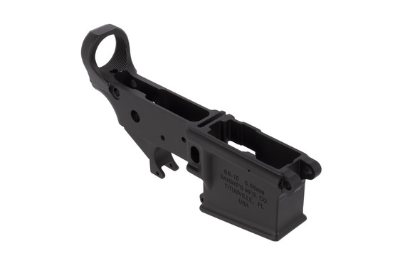 Knight's Armament Company's SR-15 stripped forged lower receiver is the same one used on their contract SR-15 rifles