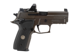 SIG Sauer P229 Legion 9mm pistol features the romeo 1 red dot sight