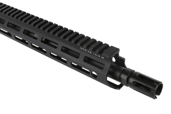 The Daniel Defense DDM4v7 complete ar 15 upper features a 5.56 barrel with A2 style flash hider
