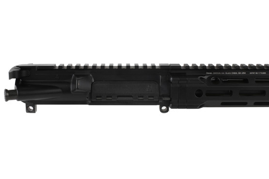 The Daniel Defense DDM4v7 Pro upper receiver group features a black finish
