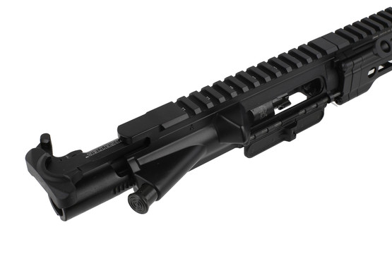 The Daniel Defense M4v7 Pro AR upper receiver group comes with a bcm gunfighter charging handle